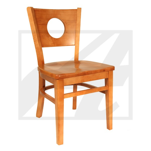 Circlet Side Chair Wood