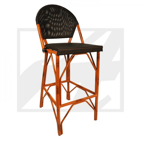 Cannes Faux Rattan Barstool