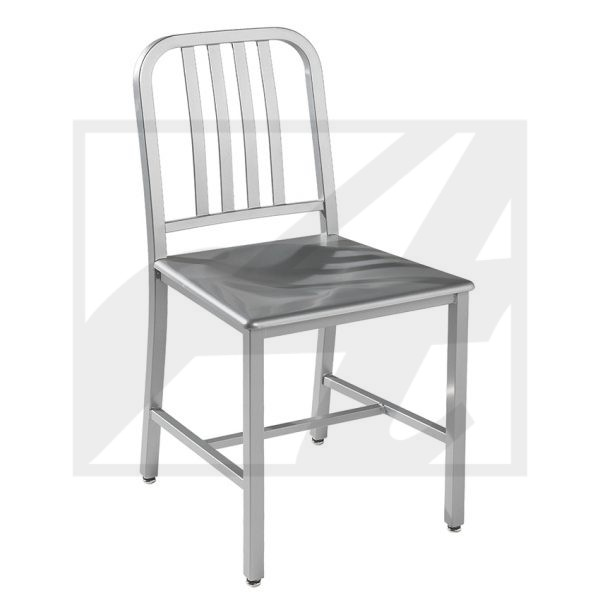 Edison w:Metal Seat Chair