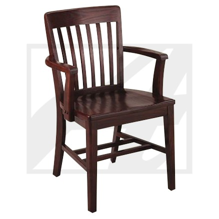 Classic Linear Arm Chair