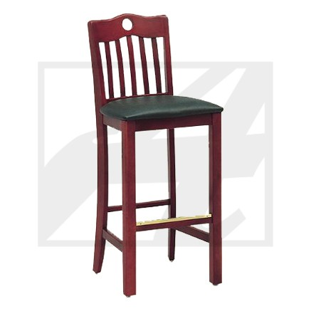 Classic Peak Cut-out Barstool