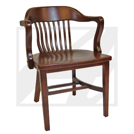 Courthouse arm chair