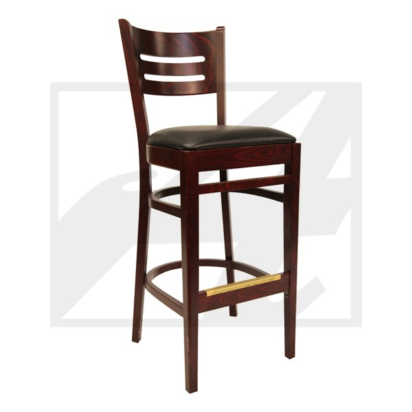 Heather Barstool w/upholster seat