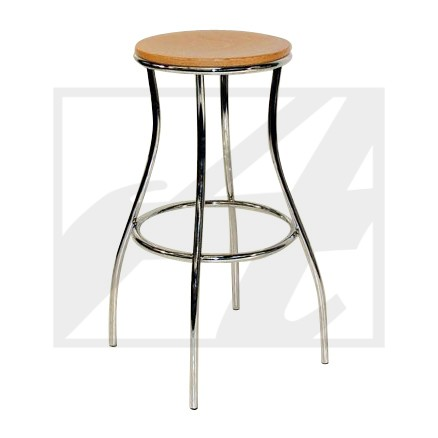 Quad Backless Barstool