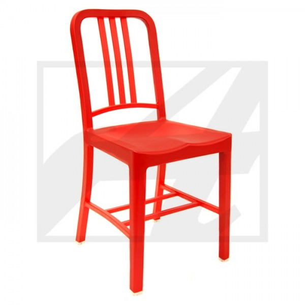 Recycle Coca Cola Chair Red