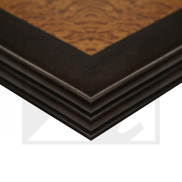 Grooved Wood Edge with Inlay