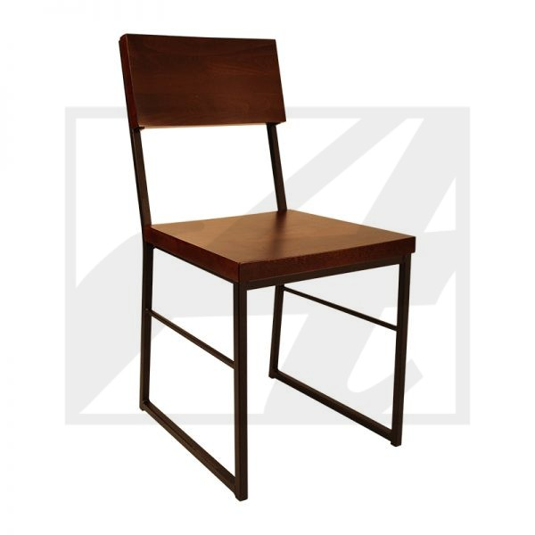 BAKER DINING CHAIR W-SLED BACK (1)